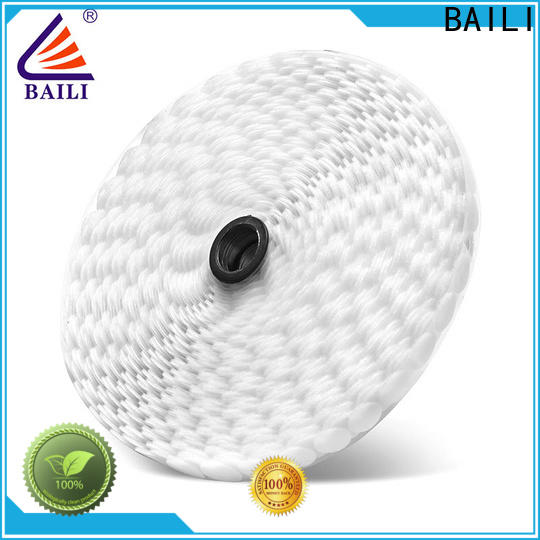 BAILI with dots self adhesive hook and loop tape supplier for wood