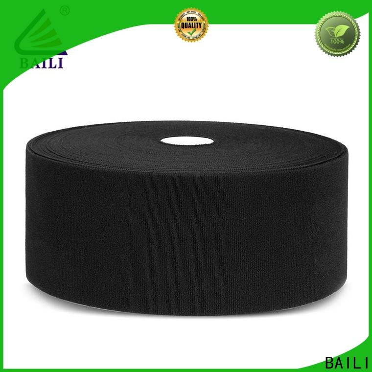 BAILI reliable fastener tape customized for shoes