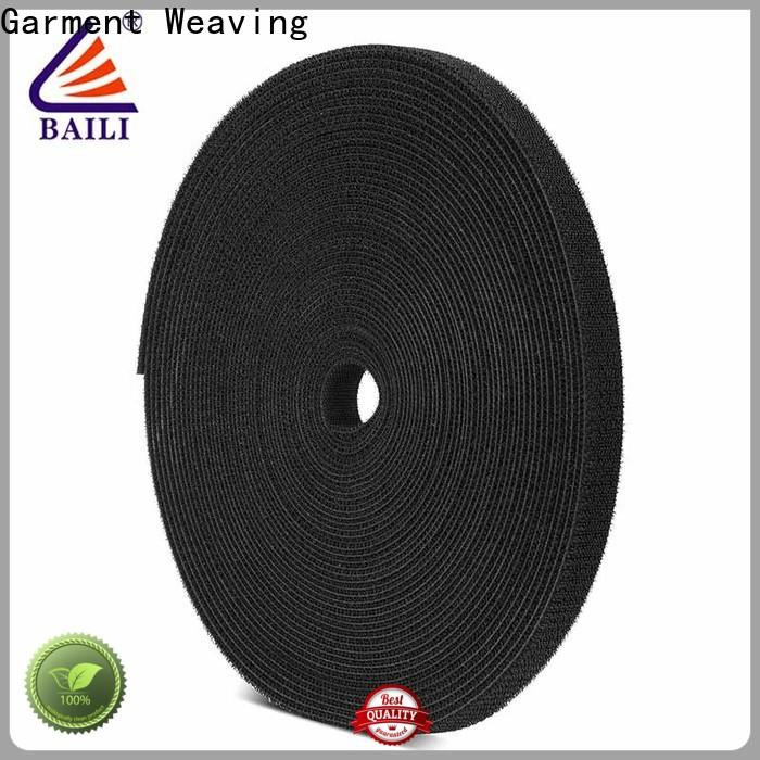 BAILI resuable sticky back hook and loop tape design for strapping