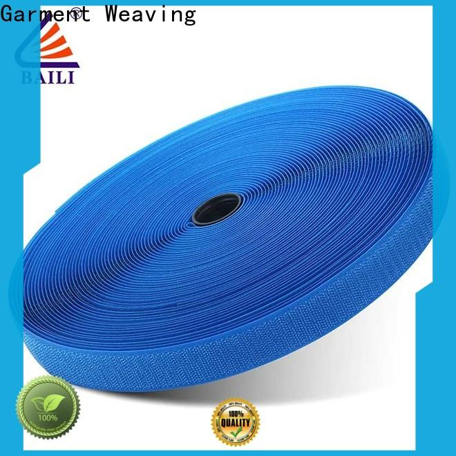 BAILI durable hook and loop tape for sewing manufacturer for shoes