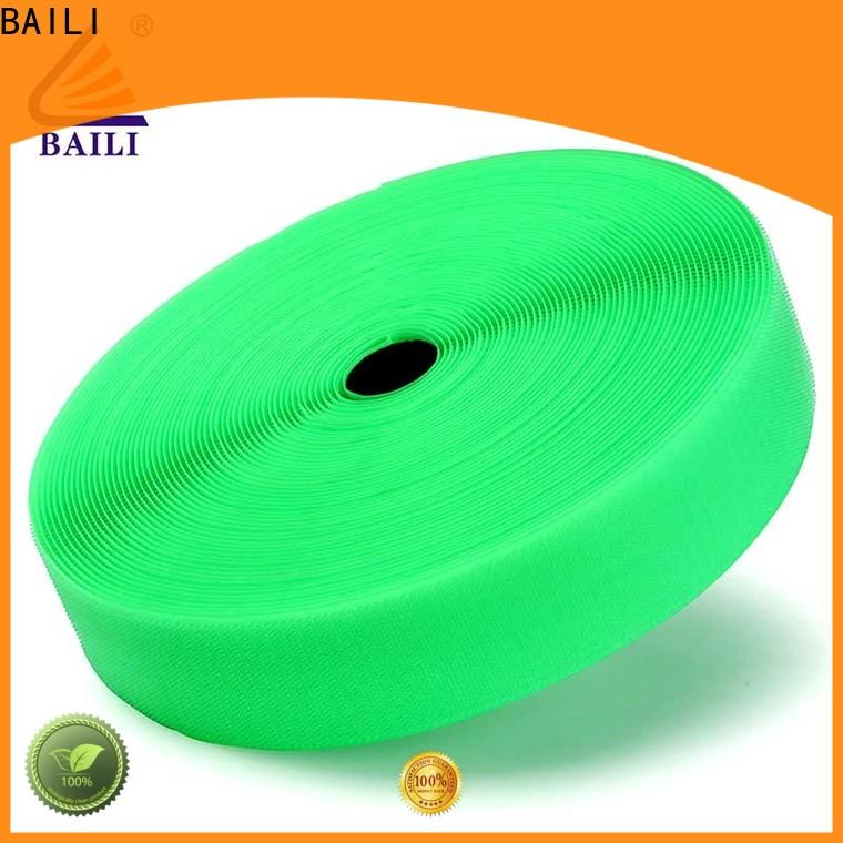 BAILI quality hook and loop strips customized for curtain