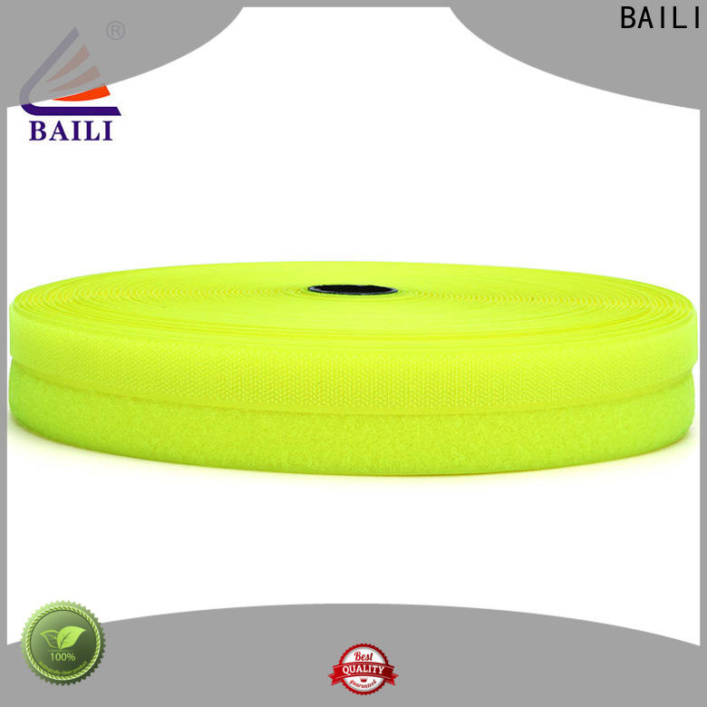 BAILI A grade quality hook and loop tape for sewing manufacturer for curtain