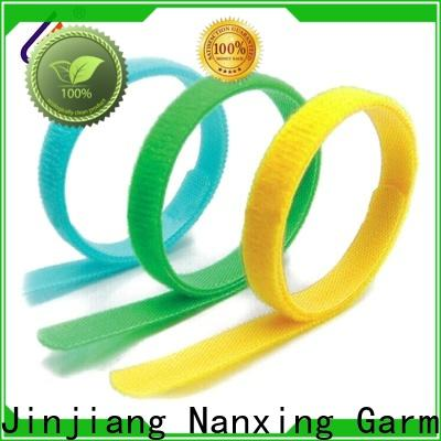 BAILI elastic hook & loop fasteners factory direct supply for cable ties