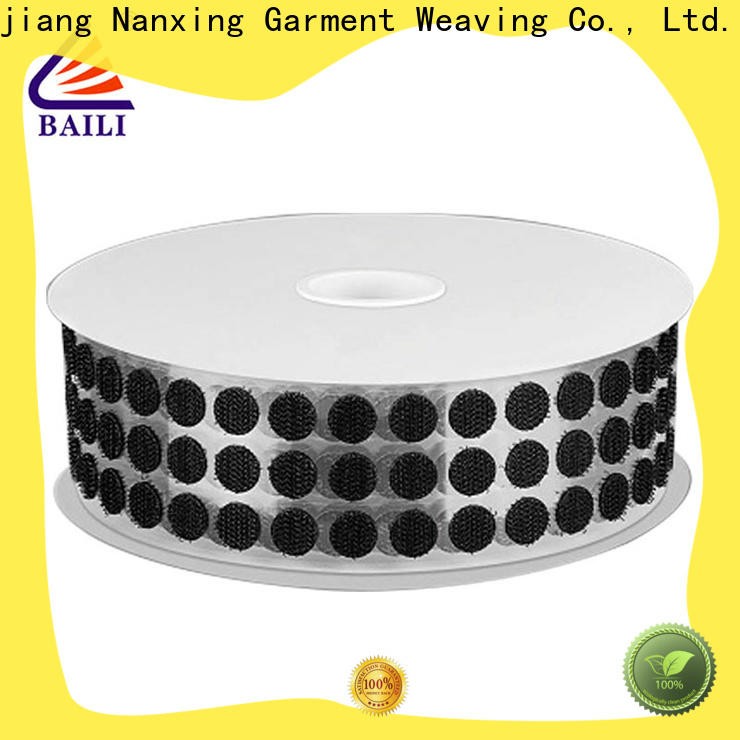 professional adhesive hook and loop tape with dots manufacturer for wall