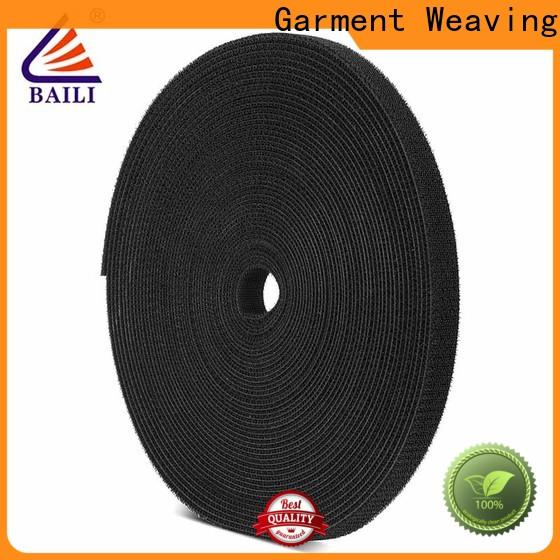 BAILI roll double sided hook and loop design for cable