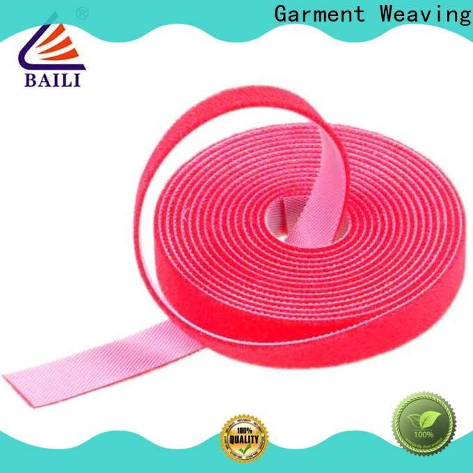 BAILI reusable sticky back hook and loop supplier for cable