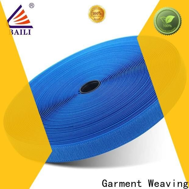 BAILI multicolor hook and loop fastener tape wholesale for curtain