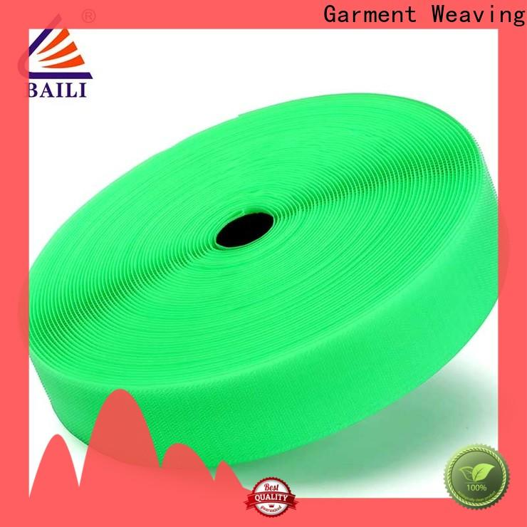 BAILI strong peeling strength hook & loop tape wholesale for curtain