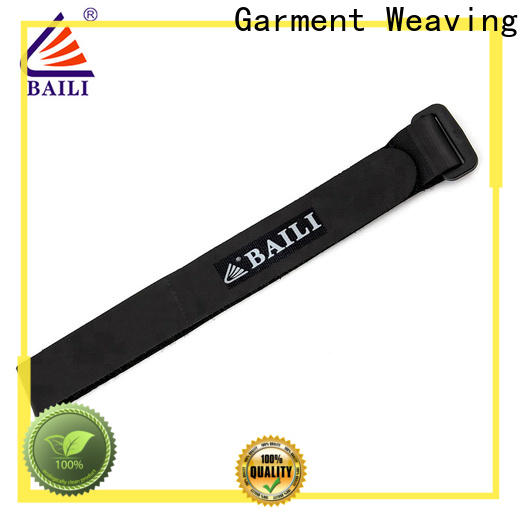 BAILI reusable hook and loop straps supplier for luggage