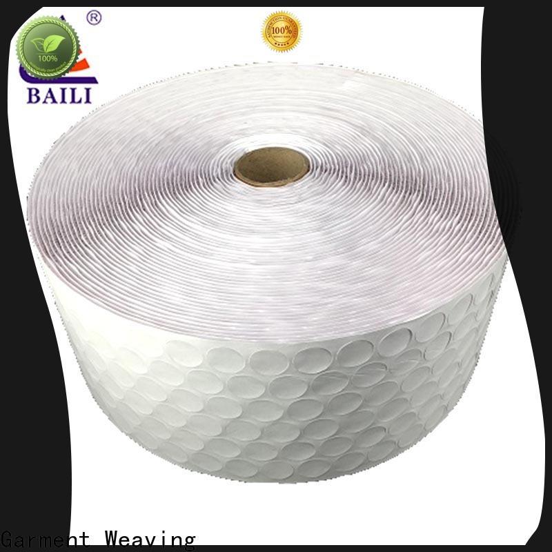 BAILI high viscosity self adhesive hook and loop tape supplier for metal