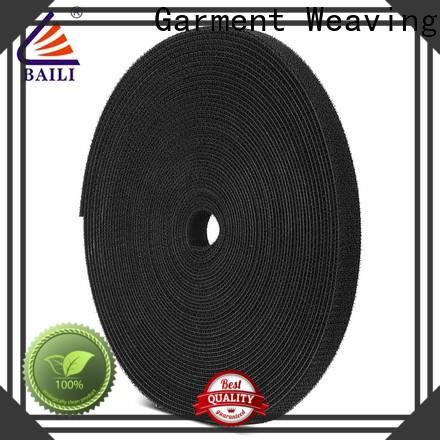 BAILI loop double sided hook and loop tape manufacturer for strapping
