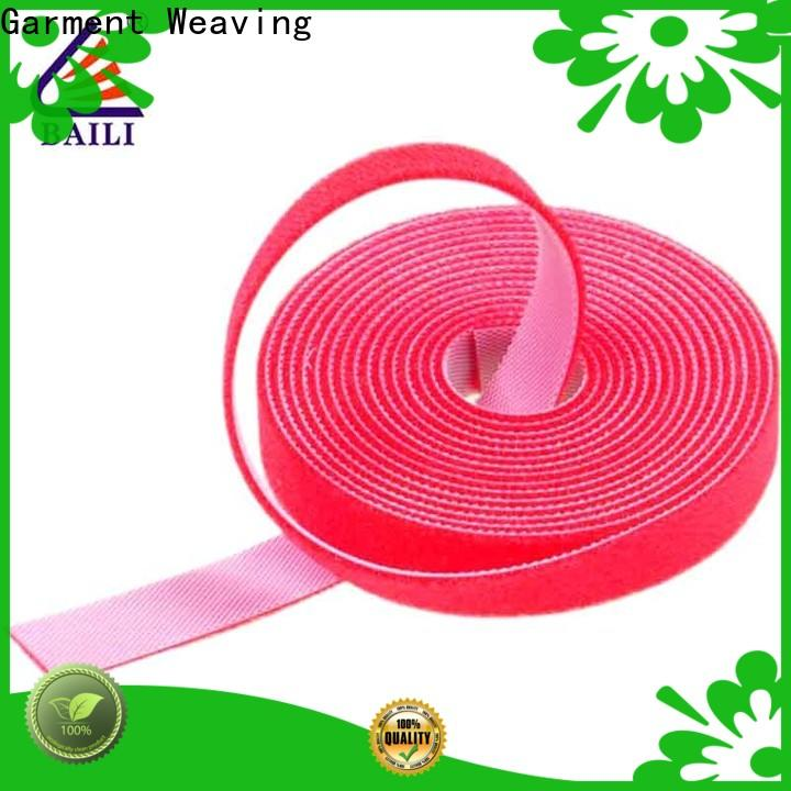 BAILI durable sticky back hook and loop supplier for strapping