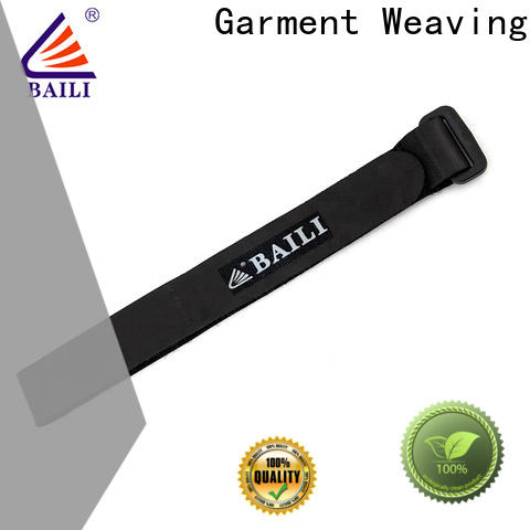 BAILI adjustable hook and loop straps manufacturer for cable ties