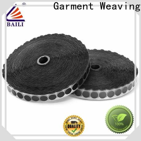 BAILI professional self adhesive hook and loop tape customized for wall