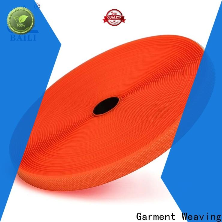 durable hook and loop fastener tape strong peeling strength manufacturer for bags