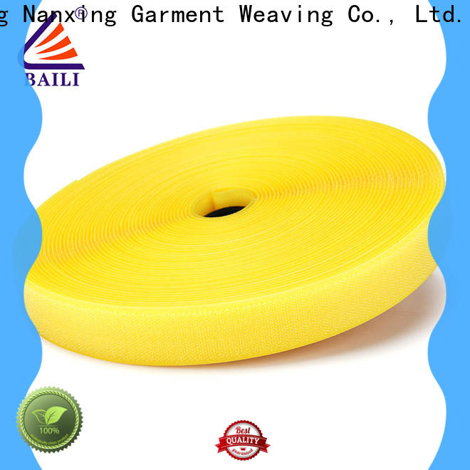 BAILI eco-friendly 3m hook and loop manufacturer for costumes
