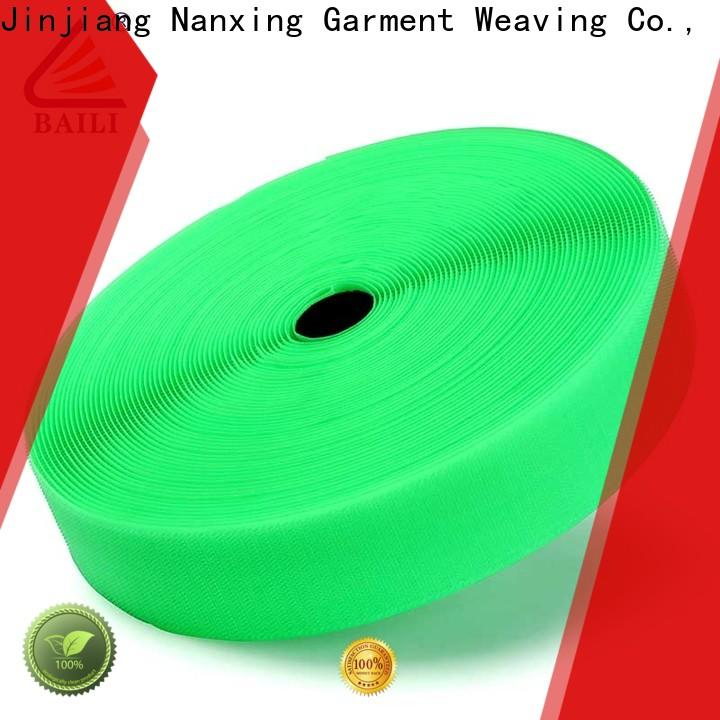 quality hook and loop tape multicolor factory direct supply for bags