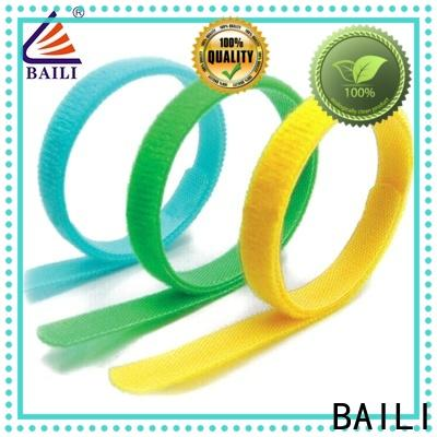 multi-functional hook and loop cinch straps strong peeling strength manufacturer for cable ties