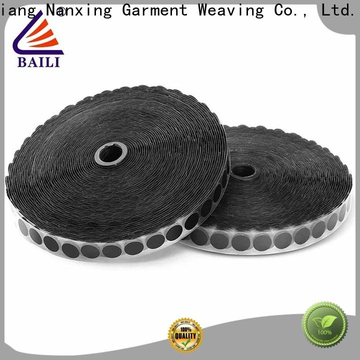 BAILI real self adhesive hook and loop tape manufacturer for wood