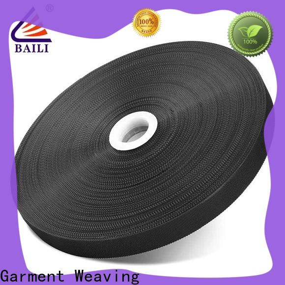 BAILI nylon fastener tape supplier for luggage