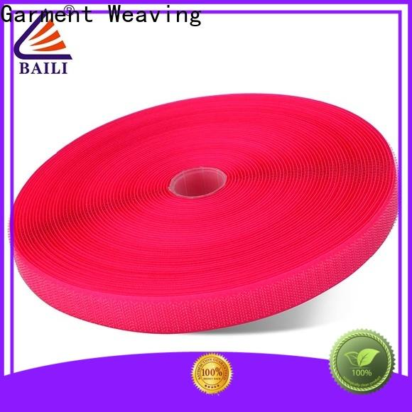 eco-friendly hook and loop tape for sewing strong peeling strength manufacturer for shoes