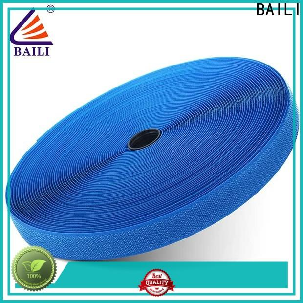 BAILI nylon hook tape factory direct supply for costumes