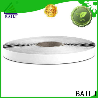 BAILI real self adhesive hook and loop fasteners manufacturer for metal