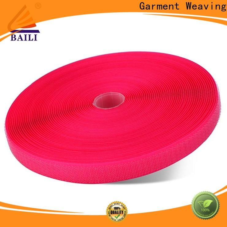 quality hook and loop tape for sewing multicolor customized for curtain