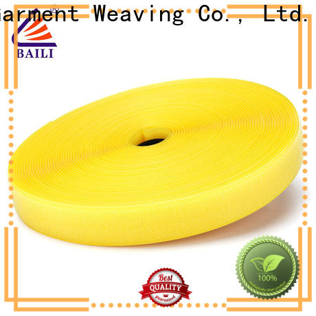 BAILI nylon hook and loop factory direct supply for curtain