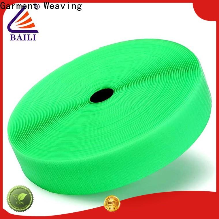 BAILI reliable hook and loop strips manufacturer for leather-ware