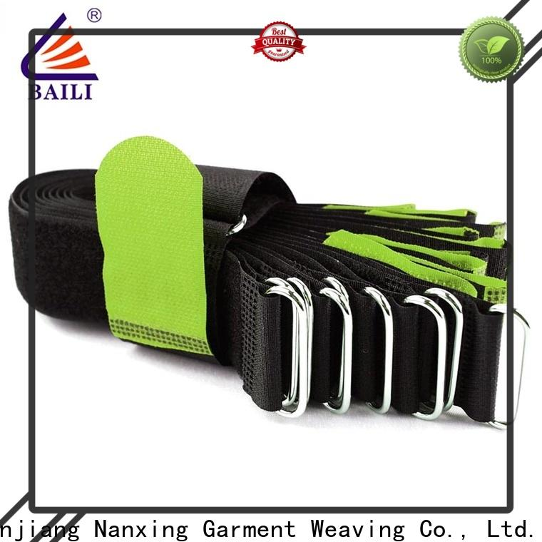 BAILI elastic hook and loop strap supplier for medical equipment