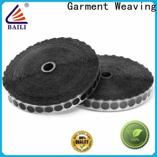 BAILI stable self adhesive hook and loop fasteners customized for metal