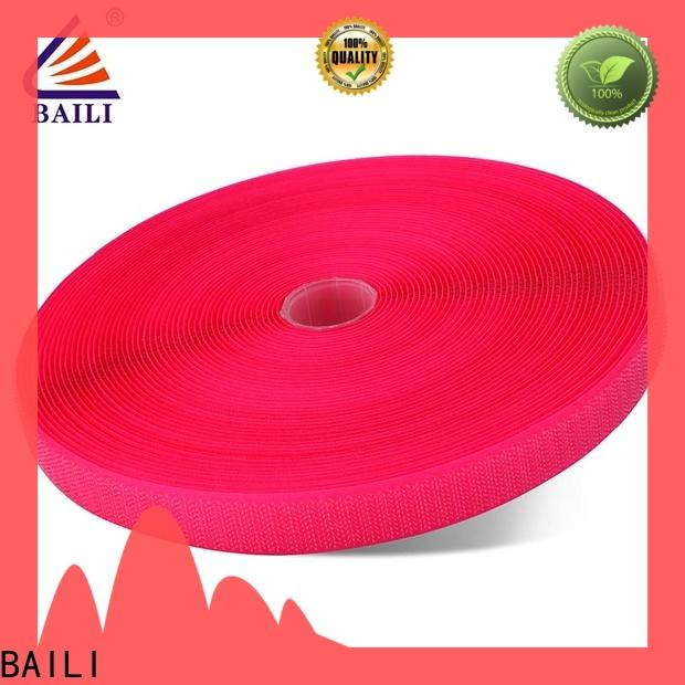 BAILI A grade quality hook & loop tape manufacturer for bags