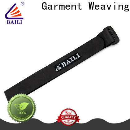 BAILI wrap tie hook and loop cable ties supplier for luggage