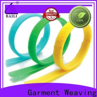 BAILI nylon reusable tie straps supplier for luggage