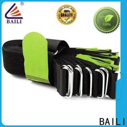 reusable hook and loop cable ties elastic manufacturer for cable ties