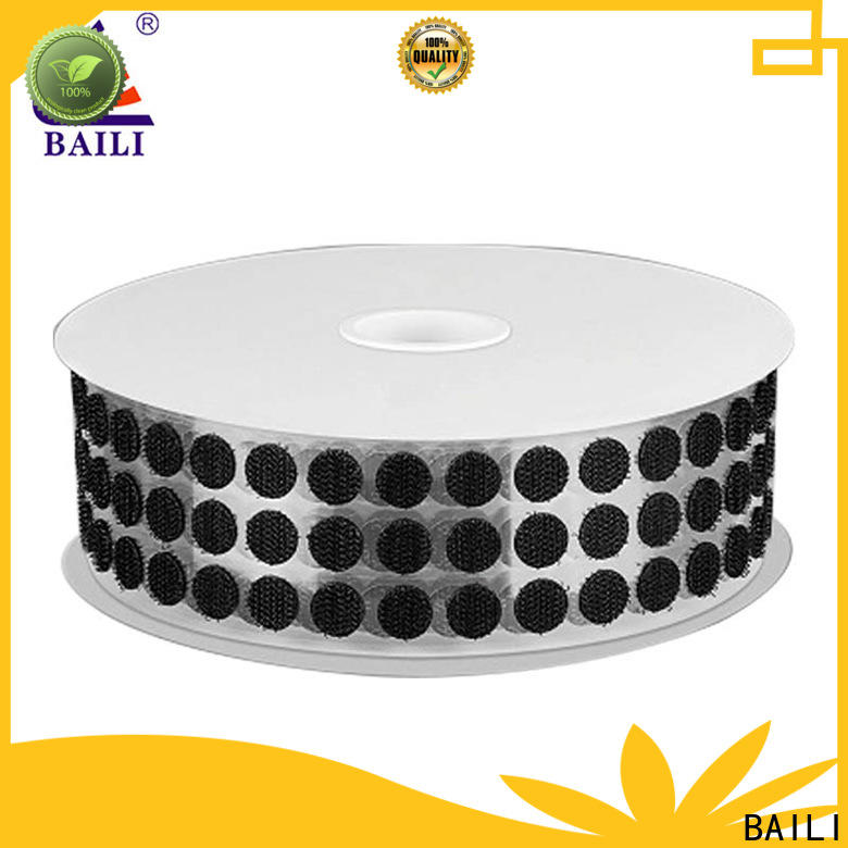 BAILI professional hook and loop dots manufacturer for wood
