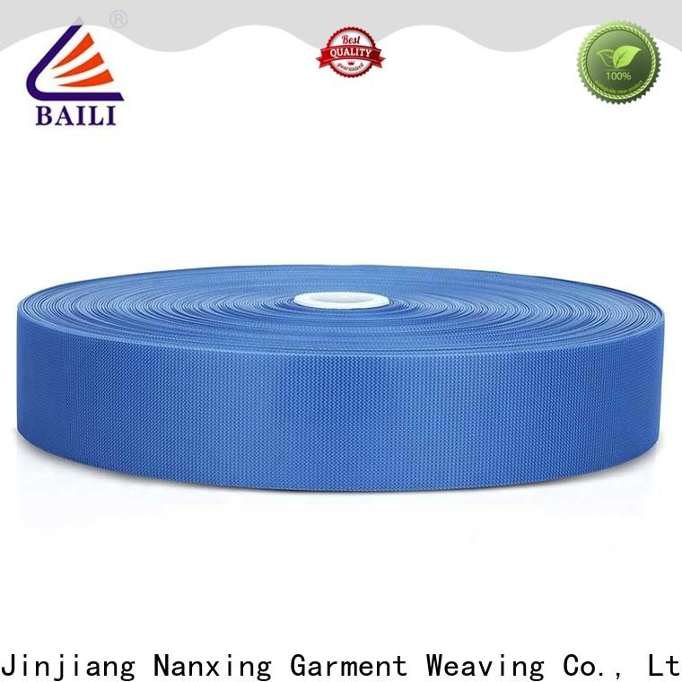 BAILI oem hook pile tape supplier for luggage