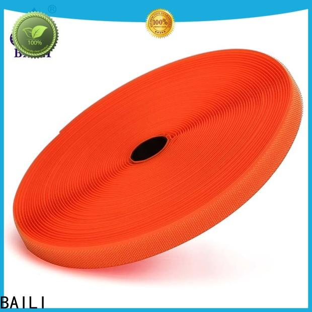 BAILI A grade quality hook and loop tape for sewing wholesale for shoes