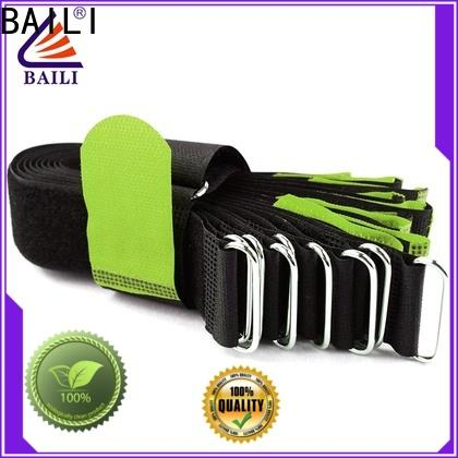 BAILI nylon reusable tie straps supplier for bundle