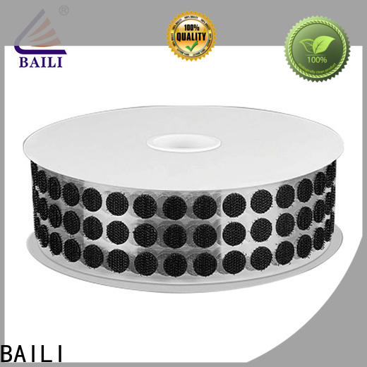 BAILI high viscosity adhesive hook and loop customized for metal