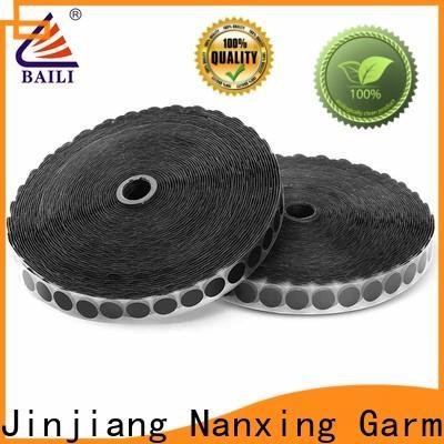 BAILI nylon self-adhesive hook and loop customized for wood