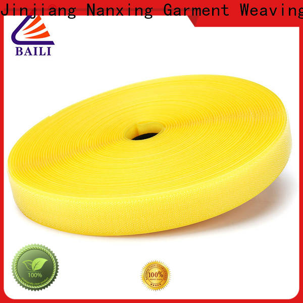 BAILI durable hook tape customized for leather-ware