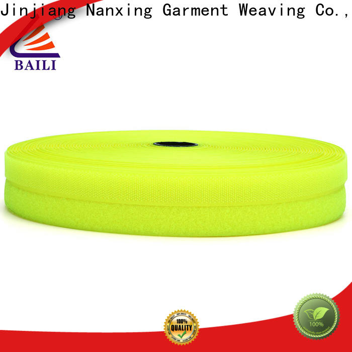 BAILI durable hook and loop tape for sewing wholesale for bags