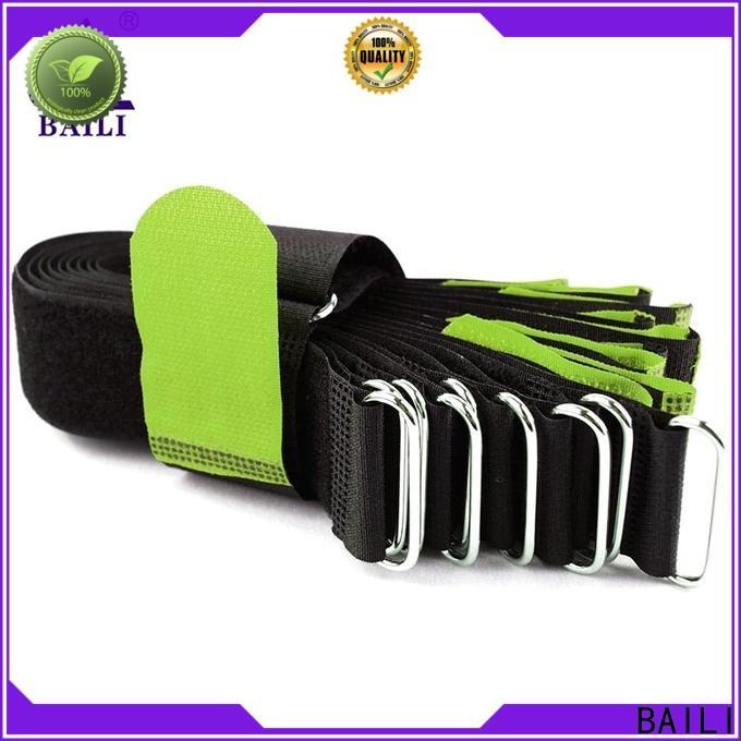 BAILI Custom custom hook and loop straps manufacturers for luggage