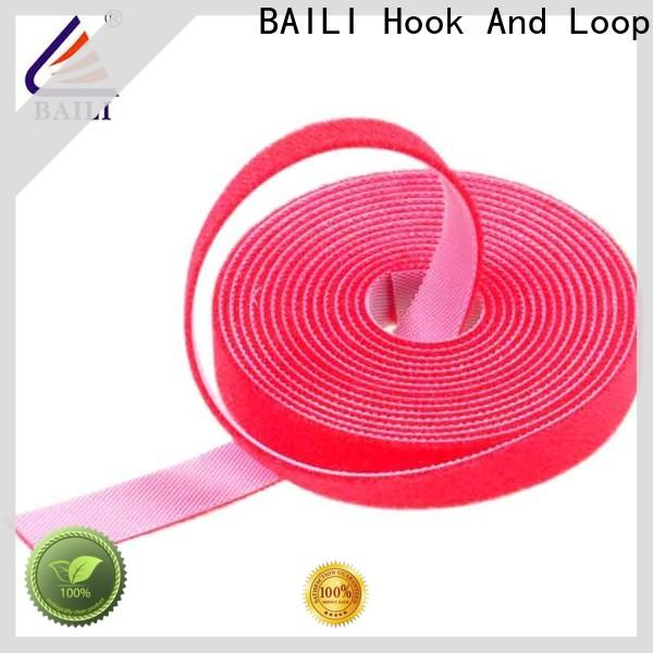 BAILI double sided hook and loop Suppliers to fasten cables