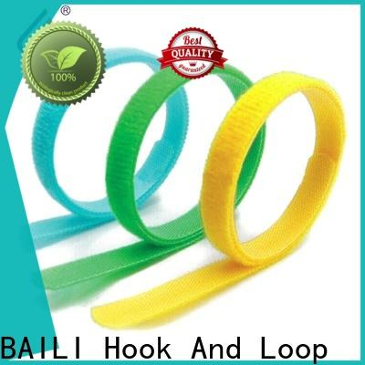BAILI custom printed hook and loop cable ties Suppliers for medical equipment