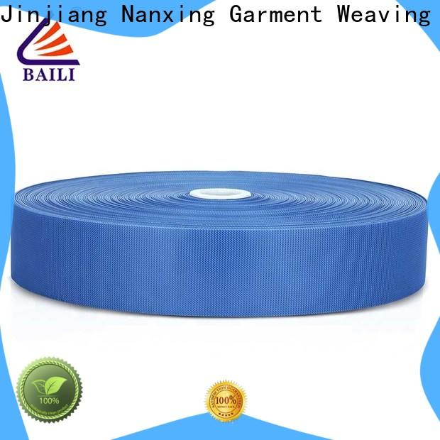 BAILI Best hook pile tape bulk buy for baby garments