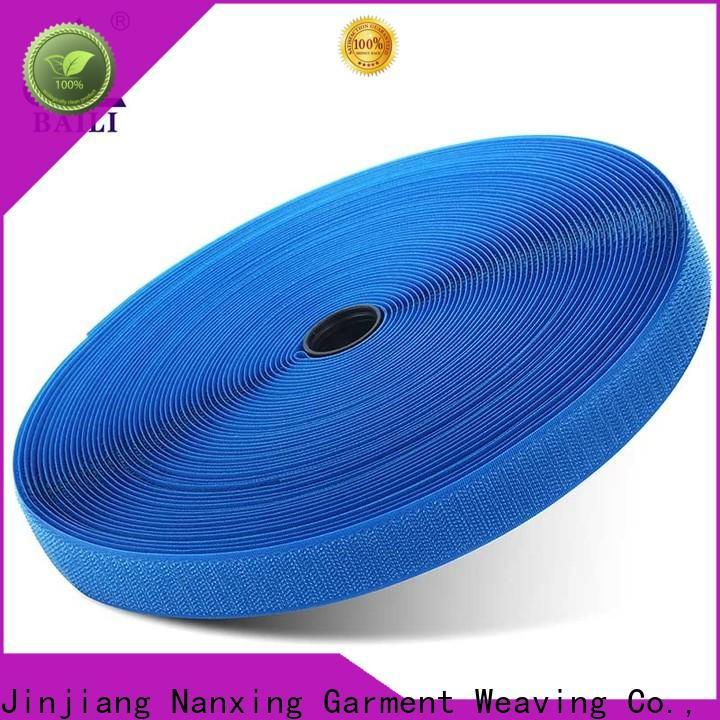 BAILI Top low profile hook and loop tape bulk buy for bags