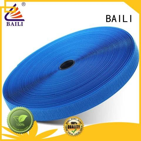 BAILI nylon hook and loop strips wholesale for leather-ware
